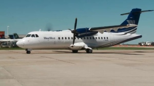 File photo of a West Wind ATR-42 aircraft.