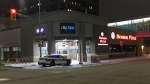 Police said a call came in just after 2 a.m. to St. Mary Avenue and Hargrave Street. (Ryan Harding/CTV Winnipeg)