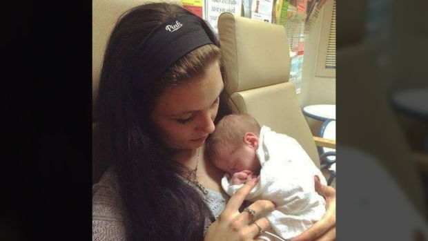 Courtney Castonguay's daughter was born with neonatal abstinence disorder 15 months ago