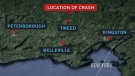 CTV News ChannelL Helicopter crash: OPP report
