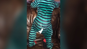Oklahoma baby rescued from extreme filth