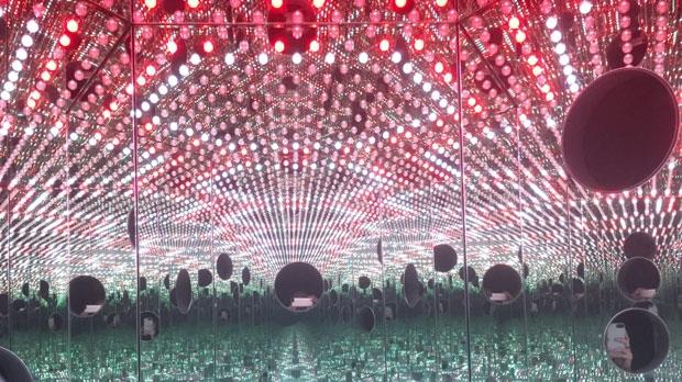 Infinity mirror exhibit, AGO