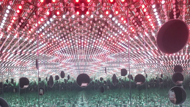 Infinity mirror exhibit, AGO