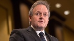 Bank of Canada Governor Stephen Poloz addresses the Canadian Club of Toronto on Thursday December 14, 2017. THE CANADIAN PRESS/Chris Young