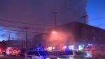 CTV Montreal: Five-alarm blaze