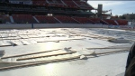Getting rink ready