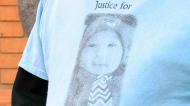 Family of murdered baby read impact statements