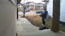 Parcels stolen from front porch in Coventry Hills