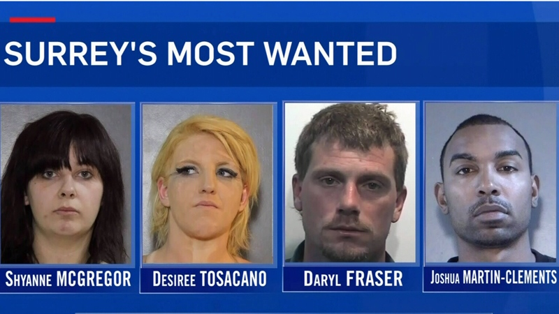 Most wanted: RCMP's naughty list revealed | CTV News