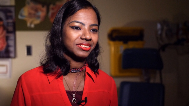 Popi Rani Das, who survived an acid attack in Bangladesh, talks to CTV News about undergoing surgery in Toronto.