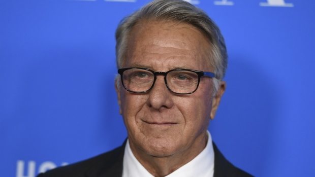 Dustin Hoffman arrives at the Hollywood Foreign Press Association Grants Banquet at the Beverly Wilshire Hotel in Beverly Hills, Calif. on Aug. 2, 2017. (Jordan Strauss/Invision)