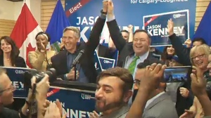 UCP leader Jason Kenney won the Calgary-Lougheed byelection by a landslide, with over 70 percent of the vote.