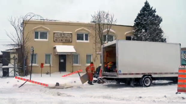 The Ahl-Ill-Bait mosque was the subject of an erroneous report by a Montreal TV station.
