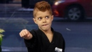 This 8-year-old could be a real life Jedi