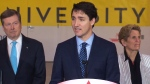 PM Trudeau in Vaughan, Ont. for subway opening