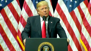 Trump speaks at FBI National Academy graduation