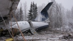The scene of a plane crash in northern Saskatchewan. (Credit: Transportation Safety Board of Canada / Flickr)