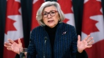 Canada's retiring chief justice, Beverley McLachlin