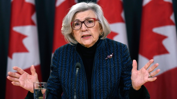 Retiring chief justice Beverley McLachlin