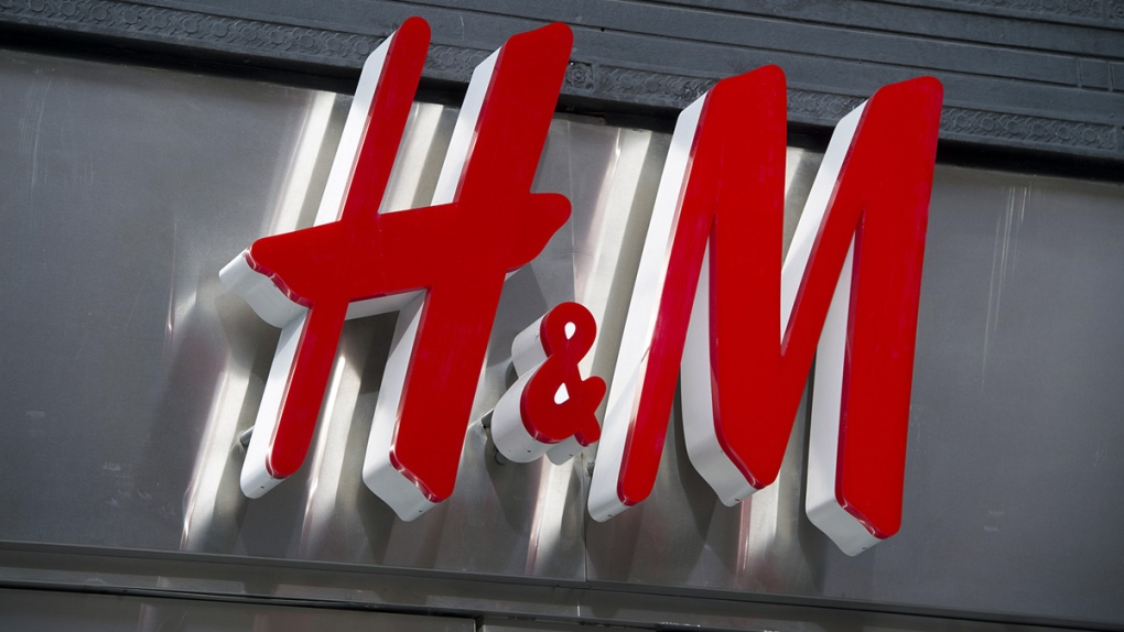 An H&M clothing store