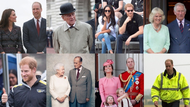 CTVNews.ca shares top moments from the Royal Family in 2017. (The Canadian Press)