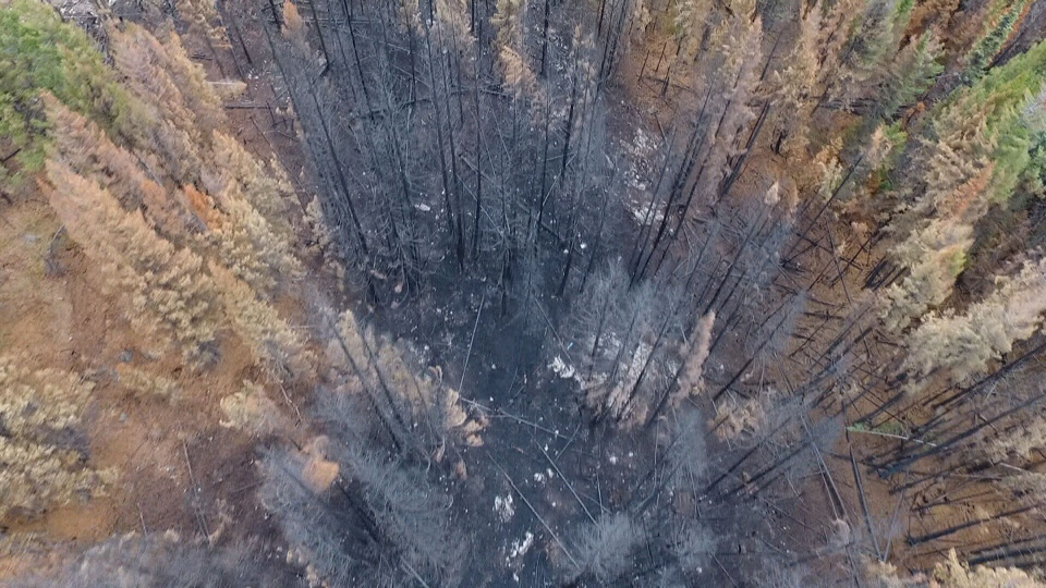 UBC researchers partnered with Vancouver-based startup FYBR to document the aftermath of the 2017 B.C. wildfire season. (Courtesy / FYBR & UBC)
