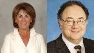 Honey and Barry Sherman are seen in these undated photos.