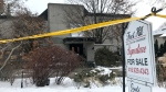 Police are investigating a home in Toronto's York Mills after the bodies of two people were found on Dec. 15, 2017. (Natalie Johnson/CTV News Toronto)