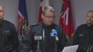 John Pare addresses issue of officers charged