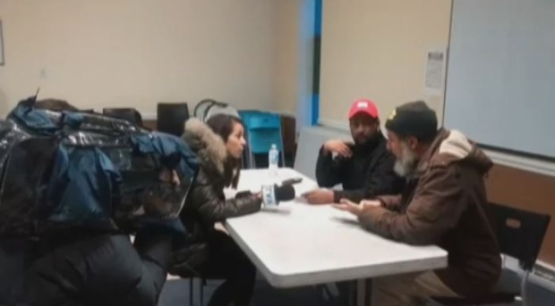 Members of the mosque filmed the interview with the TVA reporter, who could not produce the contract.