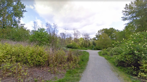 Everett Crowley Park is seen from Matheson Crescent in this screenshot from Google Maps.