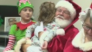 Child cancer patients get special Christmas visit