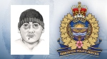 Police say this man attempted to kidnap a 14-year-old girl in west Edmonton on Friday, December 8, 2017.