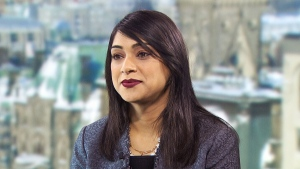 Government House Leader Bardish Chagger on CTV's Question Period.