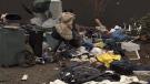 Tent city tensions turn violent