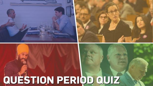 Question Period year-end quiz