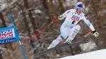 United States' Lindsey Vonn competes during an alpine ski, women's World Cup super-G, in Val d'Isere, France, Saturday, Dec. 16, 2017. (AP Photo/Gabriele Facciotti)