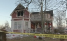 The Canadian Red Cross is aiding a family of four after fire gutted their two-storey house in Stewiacke, N.S., Saturday morning.