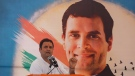 In this Nov. 11, 2017 file photo, Rahul Gandhi speaks during a public meeting at in Gujarat state's Sabarkantha district, India. (Ajit Solanki/AP Photo)