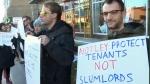 Kensignton Manor protest