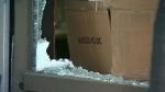Broken glass - The Camera Store break-in