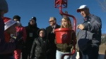 Salvation Army kettle - Dave Dickenson