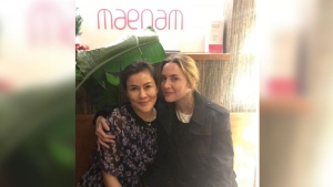 Kate Winslet visited Vancouver Thai restaurant Maenam this week. (Instagram / @maenamrestaurant)