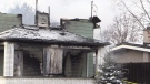 Early morning fire destroys home in Kitchener