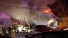 Fire in Saint-Jean-sur-Richelieu