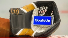 The GoalieUp app was created by Montreal-area goalie Mark Manning, who got the idea of renting himself out as a substitute goaltender when he was an unemployed student. (THE CANADIAN PRESS/Graham Hughes)
