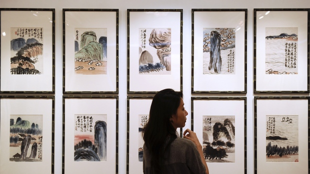 Qi Baishi painting collection sells for 140 mln Dollars