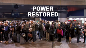 Passengers stranded as Atlanta airport goes dark