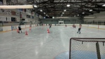 Minor hockey players are shown on the ice at Ridgetown arena in Chatham-Kent. (SKMHA / Facebook)
