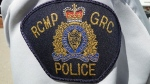 An RCMP badge is seen in this undated file photo.